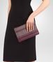 BOTTEGA VENETA MEDIUM DOCUMENT CASE IN GLICINE BAROLO EMBROIDERED NAPPA, INTRECCIATO DETAIL Other Leather Accessory D lp