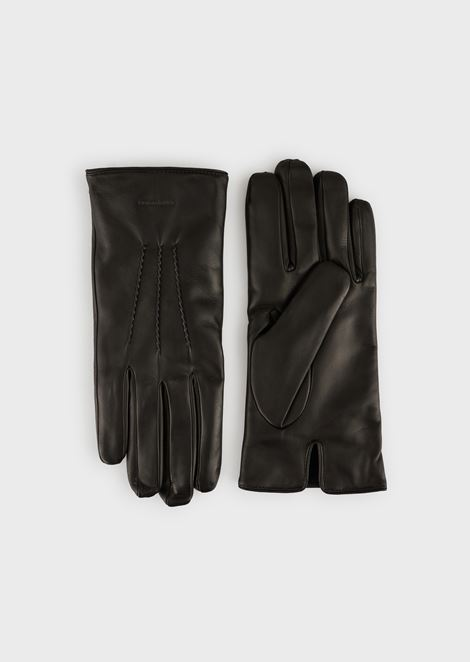 Gloves in lamb's nappa leather with cashmere lining