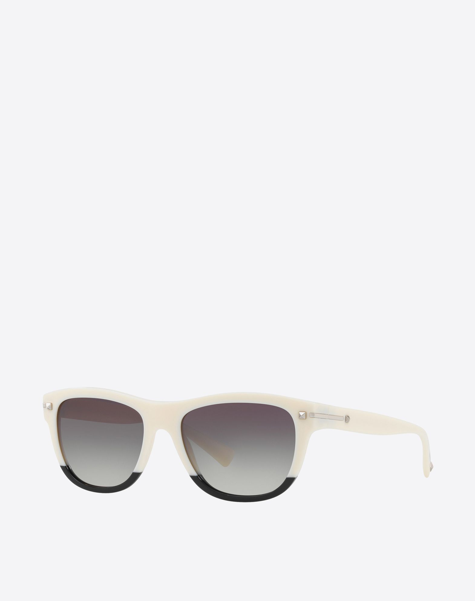 VALENTINO Logo Studs Two-tone pattern Tinted lenses  46533108mk