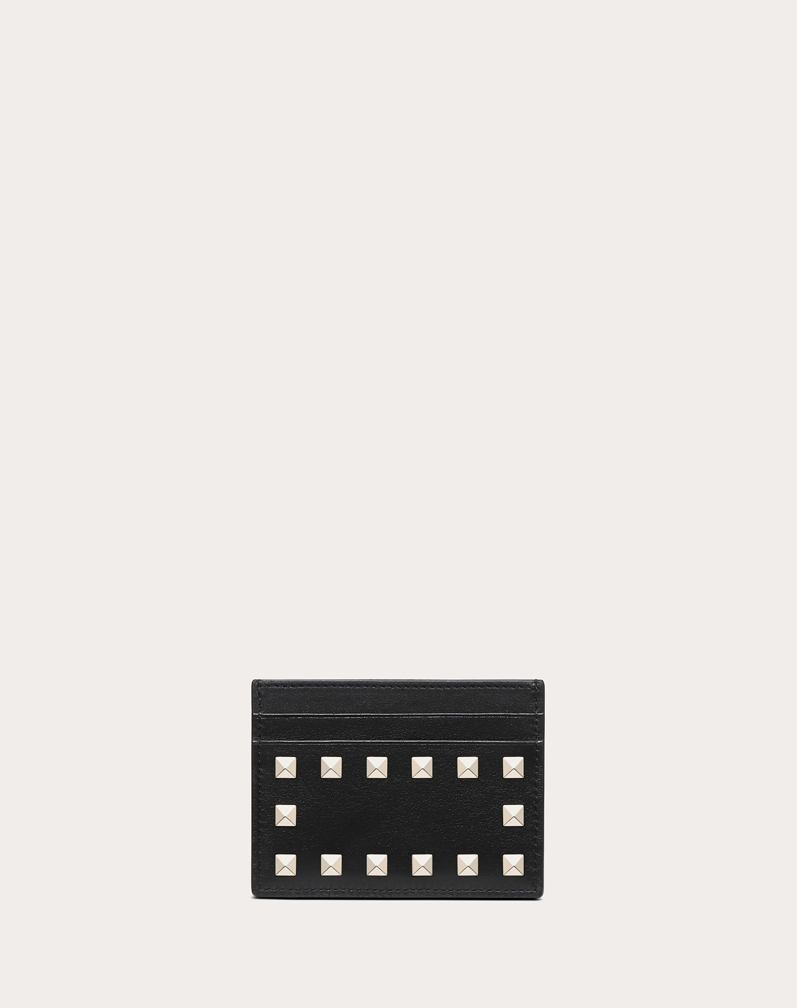 VALENTINO GARAVANI Rockstud Card Holder COIN PURSES & CARD CASES D f
