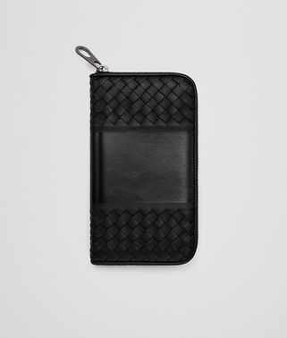 NERO NAPPA ZIP-AROUND WALLET