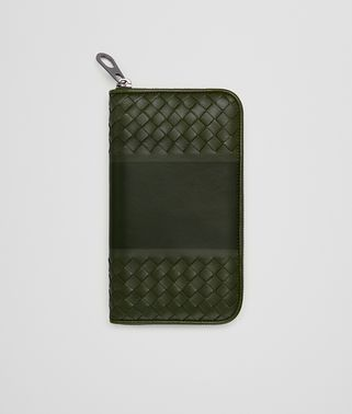 MOSS NAPPA ZIP-AROUND WALLET