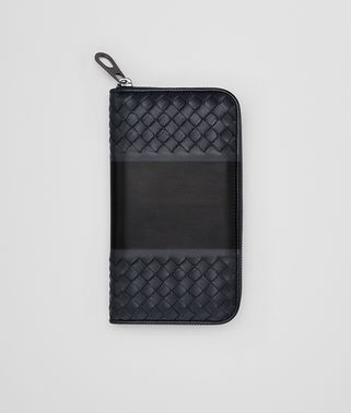 TOURMALINE NAPPA ZIP-AROUND WALLET