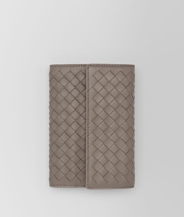 BOTTEGA VENETA CONTINENTAL WALLET IN STEEL INTRECCIATO NAPPA LEATHER Continental Wallet [*** pickupInStoreShipping_info ***] fp