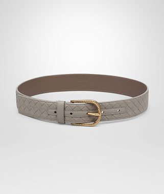 BELT IN FUMÉ INTRECCIATO NAPPA LEATHER