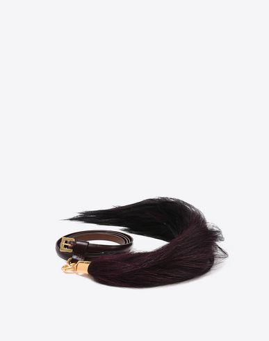 MAISON MARGIELA Calfskin belt with tassel Belt D f