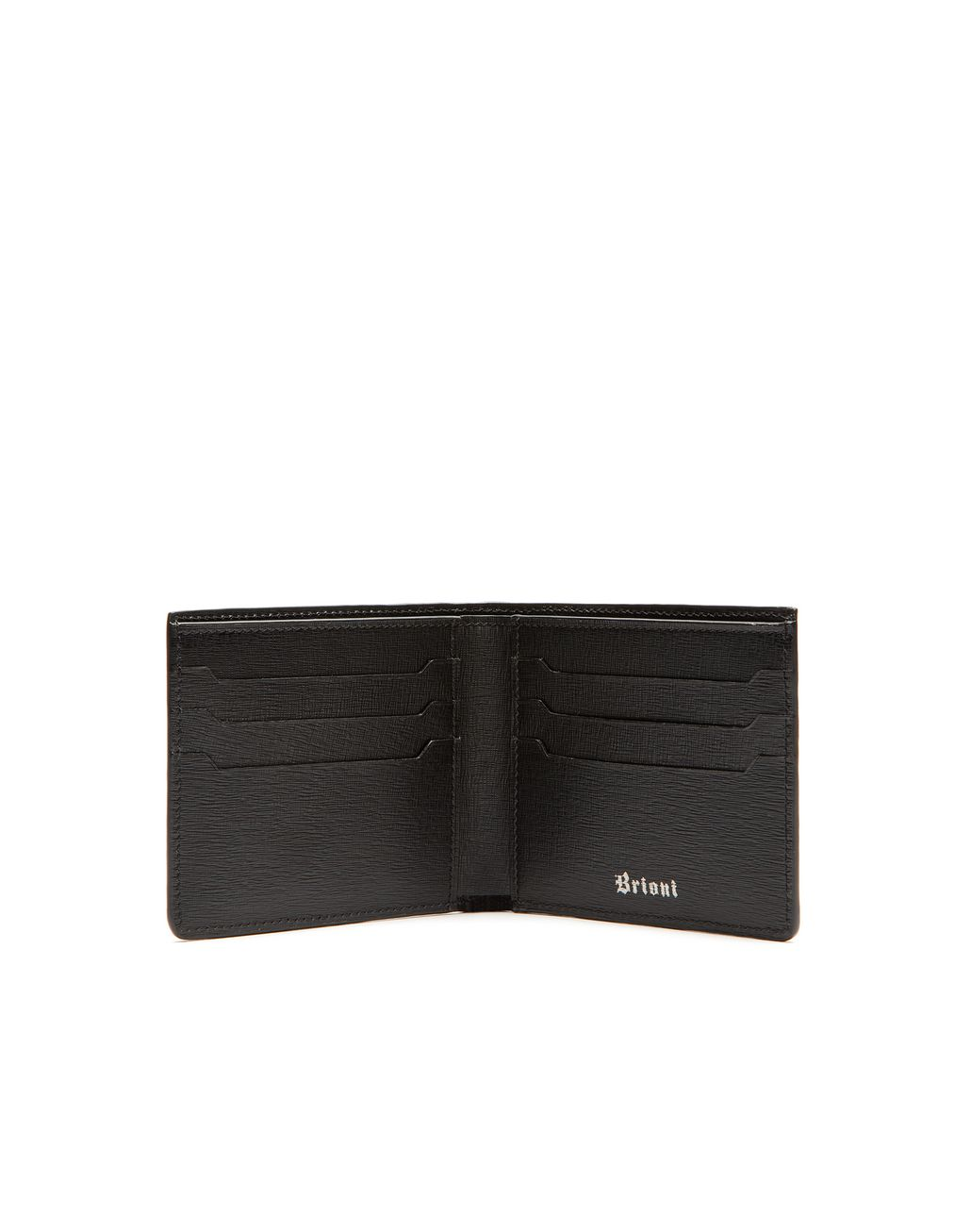 BRIONI Cognac Alligator Slim Wallet Leather Goods Man d