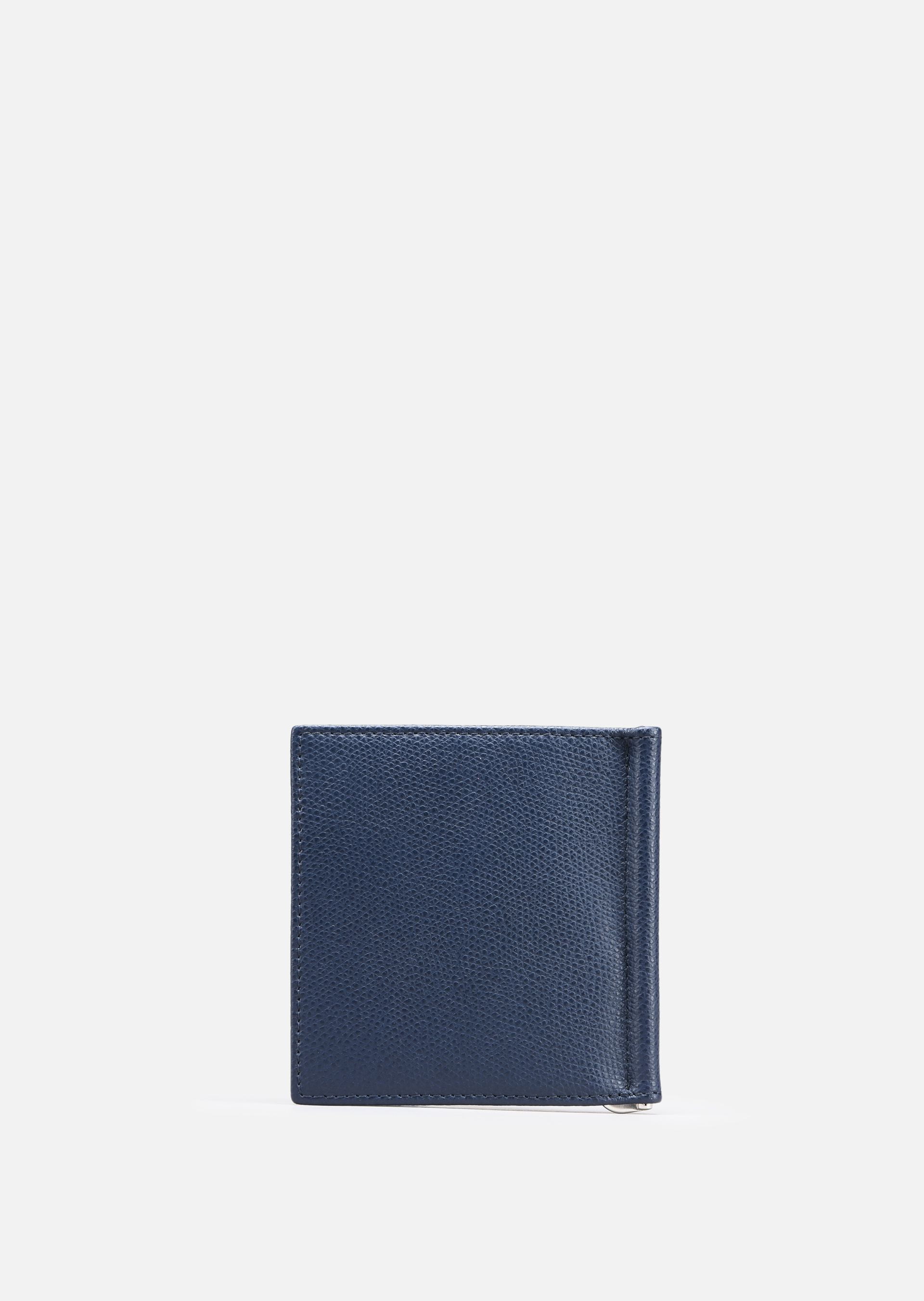 EMPORIO ARMANI PRINTED AND BOARDED LEATHER BIFOLD WALLET Wallet U e