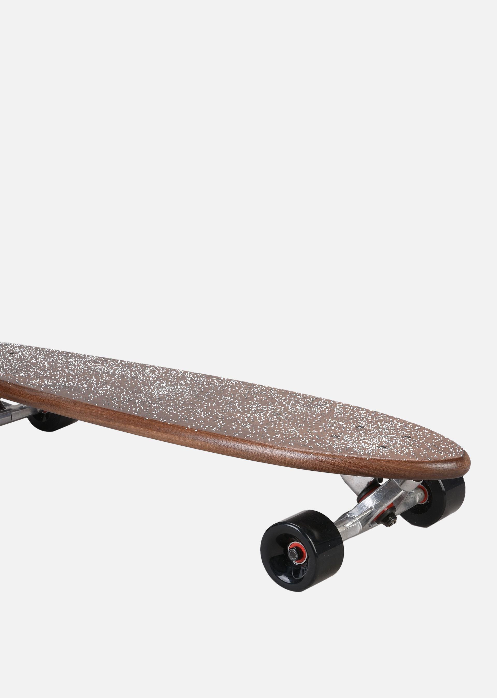EMPORIO ARMANI SKATEBOARD GRANDE IN LEGNO CON LOGO Skateboard E d