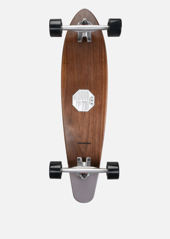 EMPORIO ARMANI SKATEBOARD GRANDE IN LEGNO CON LOGO Skateboard E r