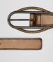 BOTTEGA VENETA ORO SCURO NAPPA BELT Belt Woman rp