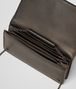 BOTTEGA VENETA DARK BRONZE NAPPA CONTINENTAL WALLET CHAIN WALLET Woman dp