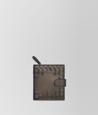 DARK BRONZE NAPPA MINI WALLET