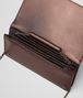 BOTTEGA VENETA DARK COPPER NAPPA CONTINENTAL WALLET CHAIN WALLET Woman dp