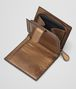 BOTTEGA VENETA ORO SCURO NAPPA MINI WALLET Mini Wallet or Coin Purse D lp
