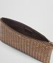 BOTTEGA VENETA ORO SCURO INTRECCIATO CALF BILETTO Other Leather Accessory E ap