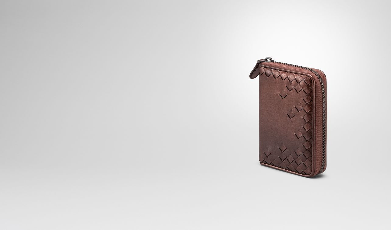 dark copper nappa zip-around wallet landing