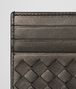 BOTTEGA VENETA DARK BRONZE INTRECCIATO NAPPA CARD CASE Mini Wallet or Coin Purse E dp