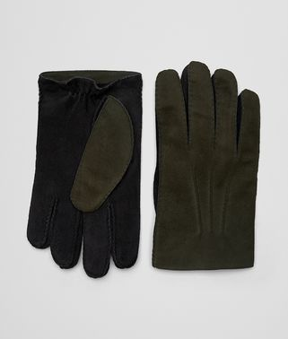 VERY DARK MOSS SUEDE GLOVE