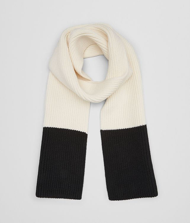 BOTTEGA VENETA LATTE MERINOS WOOL SCARF Scarf or other Man fp