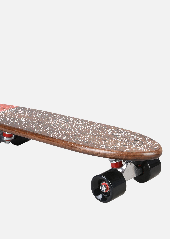 EMPORIO ARMANI SKATEBOARD PICCOLO IN LEGNO CON LOGO Skateboard E d