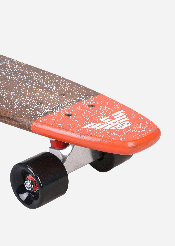 EMPORIO ARMANI SKATEBOARD PICCOLO IN LEGNO CON LOGO Skateboard E e