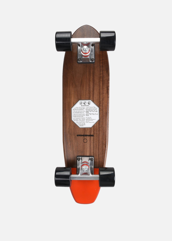 EMPORIO ARMANI SKATEBOARD PICCOLO IN LEGNO CON LOGO Skateboard E r