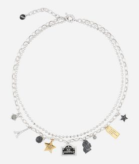 KARL LAGERFELD LOVE FROM PARIS NECKLACE