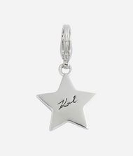 KARL LAGERFELD Silver Karl Star Charm 9_f