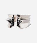 KARL LAGERFELD Sliced Star Ring 8_d
