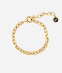 Gold Faceted Chain