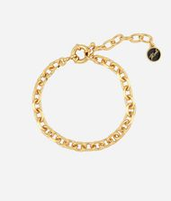 KARL LAGERFELD Bracelet doré à facettes 9_f
