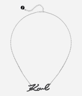 KARL LAGERFELD KARL SIGNATURE NECKLACE