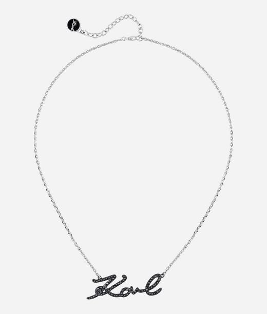 KARL LAGERFELD Karl Signature Necklace 12_f