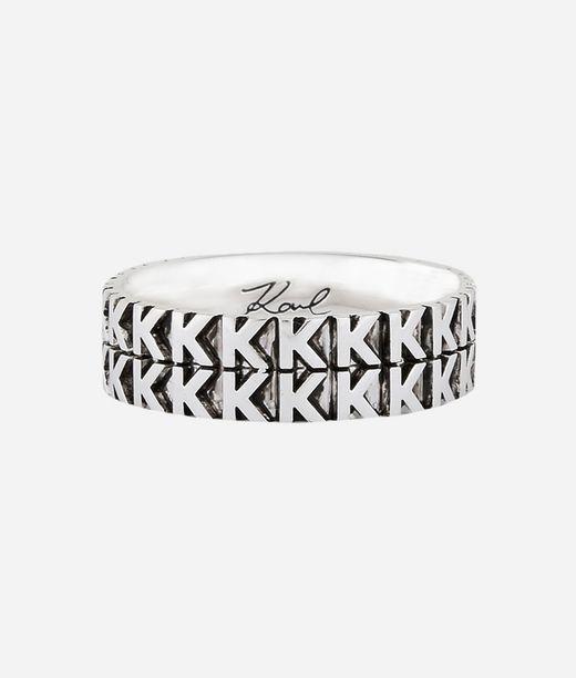 KARL LAGERFELD K Pattern Ring 12_f