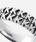 KARL LAGERFELD K Pattern Ring 8_d