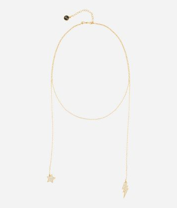 signature star necklace - Metallic Karl Lagerfeld MQHyF