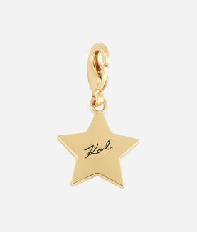 KARL LAGERFELD GOLD KARL STAR CHARM