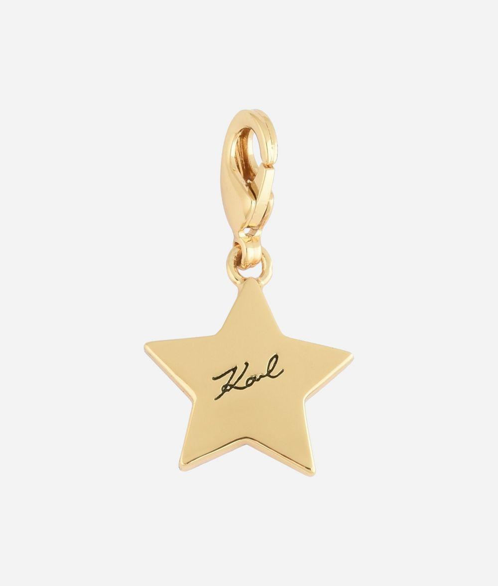 KARL LAGERFELD Breloque Karl Star dorée Charm Femme r
