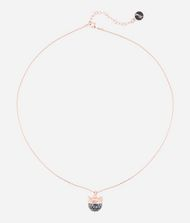 KARL LAGERFELD Collier avec pendentif Choupette or rose 9_f