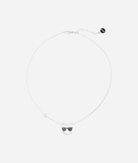 KARL LAGERFELD CHOUPETTE SUNGLASSES NECKLACE