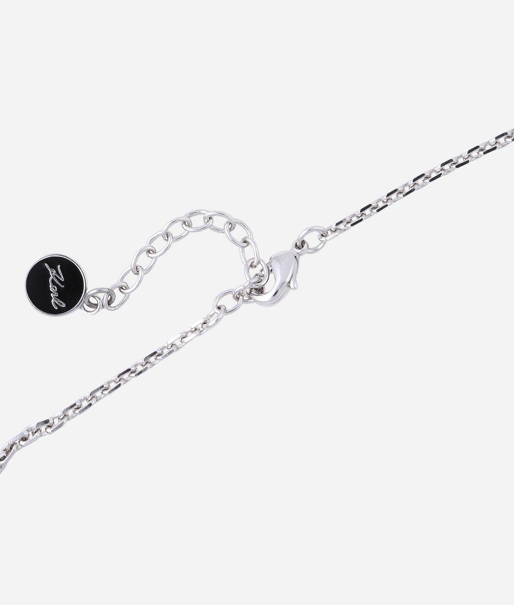 KARL LAGERFELD Bracelet avec pendentif Choupette argenté Bracelet Femme d