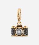 Gold Camera Charm