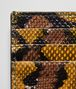 BOTTEGA VENETA OCRE KARUNG CARD CASE Card Case or Coin Purse E dp