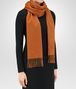 BOTTEGA VENETA LIGHT BROWN CASHMERE SCARF Scarf or other D rp