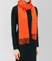 BOTTEGA VENETA ORANGE CASHMERE SCARF Scarf or other D rp