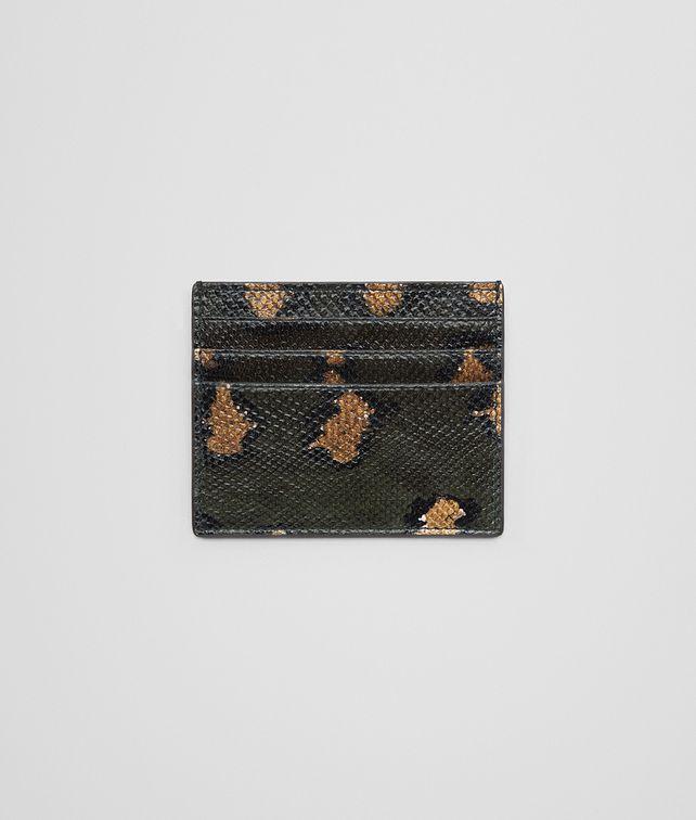 BOTTEGA VENETA INTENSE MOSS KARUNG CARD CASE Card Case or Coin Purse E fp
