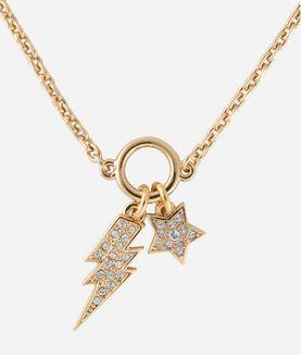 KARL LAGERFELD GOLD STAR AND LIGHTNING BRACELET
