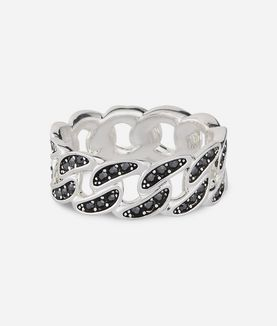 KARL LAGERFELD CHAIN LINK RING