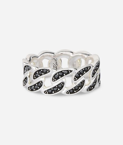 KARL LAGERFELD Chain Link Ring 12_f
